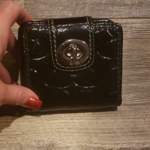 Coach Patent Wallet